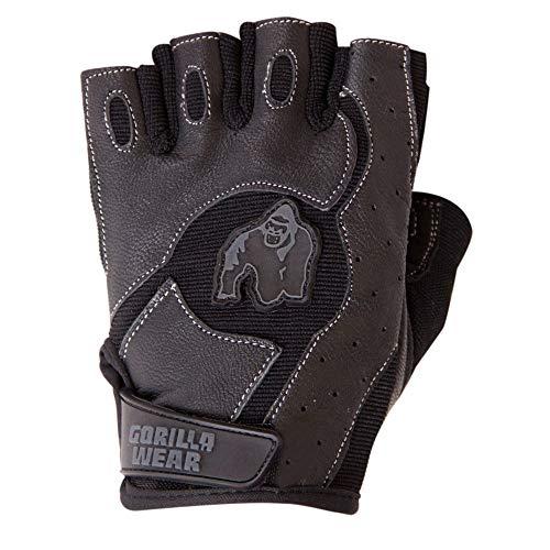 Gorilla Wear Mitchell Training Gloves - schwarz - Bodybuilding und Fitness Accessoires für Damen und Herren, XL