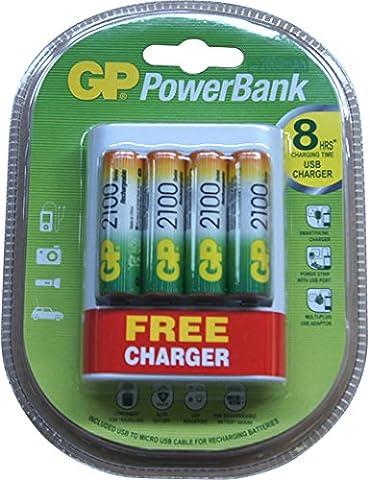 Chargeur pour CANON POWERSHOT A420, 1.2V, 2000mAh,