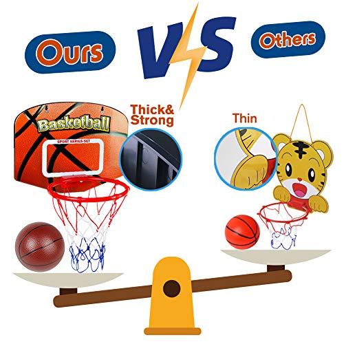 Zoom IMG-3 canestro basket bambini adulto pallacanestro