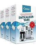 Entkalker Tabletten 135x Entkalkungstabletten für Kaffeevollautomat Entkalkertabs - vielseitig einsetzbar für Kaffeepadmaschine Kaffeemaschine Wasserkocher