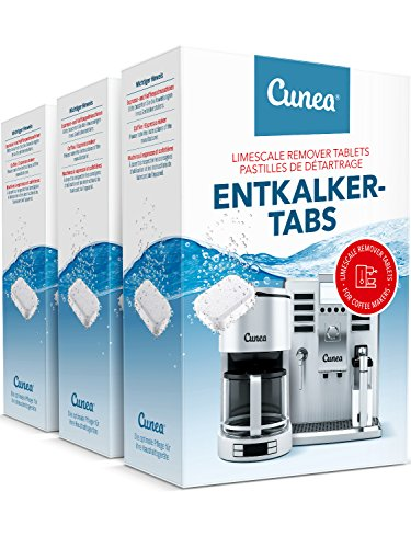 Entkalker Tabletten 135x Entkalkungstabletten für Kaffeevollautomat Entkalkertabs - vielseitig...