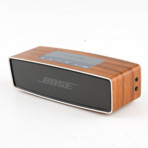 Preisvergleich Produktbild DesignFolia Laminat Schutz Abdeckung für Bose Soundlink Mini Speaker Lautsprecher Soft Cover Case (Eiche Mittel)