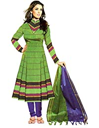 Daily Office Wear Printed Cotton Salwar Kameez Suit Unstitched Dress Material