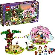 LEGO 41392 Friends Camping i Heartlake City Utomhus Äventyrset med Tält och Olivia och Mia Mini Dockor, Flerfä