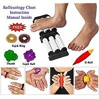 Akupressur Doppel Fuß-Massagegerät mit Stachelwalzen Relief Stress, Immunität erhöhen gleichzeitig für beide Füße... preisvergleich bei billige-tabletten.eu