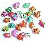 25pc Schwimmende Künstlich Deko Fisch Ornament Dekoration für Aquarium Tank