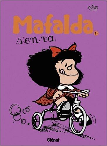 Mafalda, Tome 11 : Mafalda s'en va de Quino,Jacques Meunier (Traduction) ( 4 janvier 2012 )