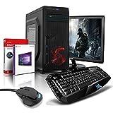 Komplett PC-Paket Gaming/Multimedia Computer mit 3 Jahren Garantie! | AMD FX-8800 4x3.4 GHz | 16GB DDR4 | 256 GB SSD | 2TB | USB3 | WiFi | DVD±RW | Win10 Pro 64 | 24