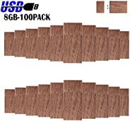 Wood Flash Drives Bulk 8GB-100PCS