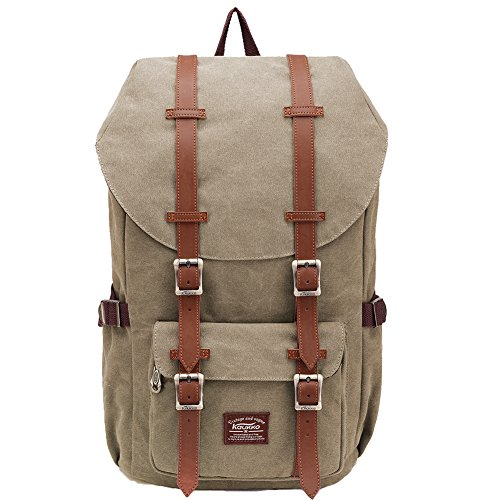 Damen-designer-laptop-tasche Tote (KAUKKO Rucksack Damen Herren Studenten 17 Zoll Backpack für 15