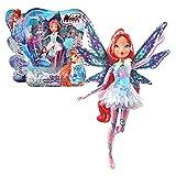 Winx Club - Tynix Magic Lights Puppe - Fee Bloom magisches Gewand mit Licht