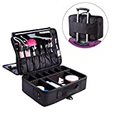 Best Train Cases - Makeup Train Case, FLYMEI® Large Space Cosmetic Organizer Review