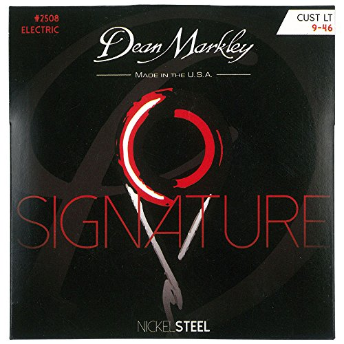 Dean Markley 2508 Custom Light Signature Series Electric Guitar Strings (Nickel Steel)  available at amazon for Rs.245