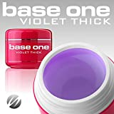 Base One Violet Thick - Gel UV 50 g