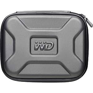 Western Digital WD Nomad Rugged Case Étui rigide pour disque dur externe portable My Passport Argent