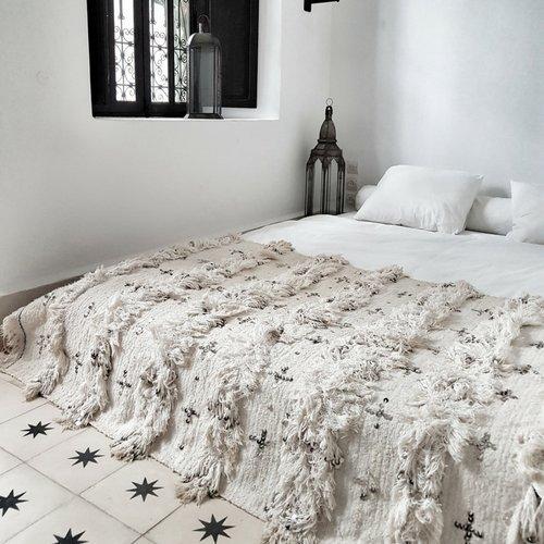 manta de estilo bohemio, ropa de cama boho chic, handira, manta de boda marruecos bereber, alfombra marruecos vintage, tapiz, textiles vintage