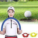 Pinkfishs Golf Swing Multi-Funktion Golf Practice Soft Stick Yoga Foam Swing Rod Golf Training Aids - Gelb