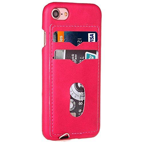 iPhone Case Cover Housse de protection IPhone 7, couverture en cuir dur précis avec des fentes pour Apple IPhone 7 ( Color : 4 , Size : IPhone 7 ) 5