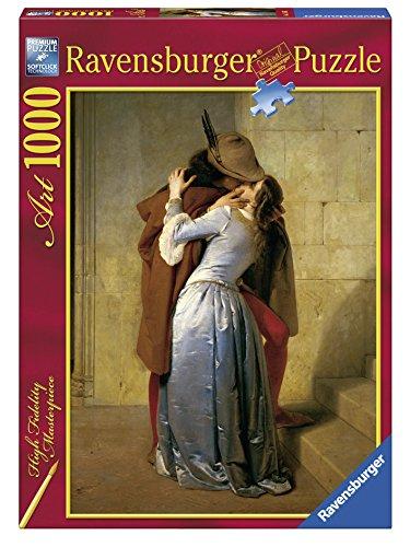 Ravensburger 15405le baiser, puzzle, Francesco Hayez, 1000pièces