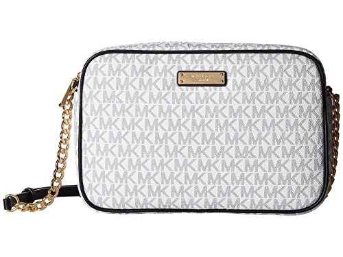 Michael Kors32S7GJSC7B - Jet Set Damen, (Wht/Navy), Large