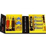 Homeself 38 Stück Präzisions-Schraubendreher-Set Repair Tool Kit für Reparatur iPhones, Android Phones, Tablets, Computer, Elektronik Produkte