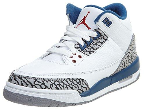 Nike Chaussures de Ville à Lacets Pour Homme white, true blue