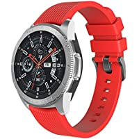 Diadia Sport Ersatzarmband für Samsung Galaxy Watch, Weiches Silikon, 46 mm