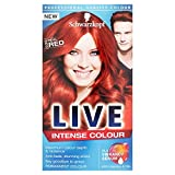 Schwarzkopf Live Intensive Color 035 Real Red Hair Dye