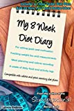 My 8 Week Diet Diary: For setting goals and motivation  Tracking weight loss and measurements  Meal planning and calorie recording  8 weeks of daily food and activity logs