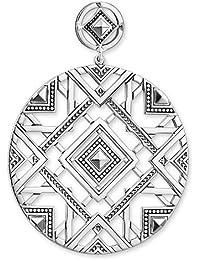 """Thomas Sabo Damen-Ohrstecker 1 Paar """"Afrika Ornamente"""" 925 Silber - H1929-637-21"""