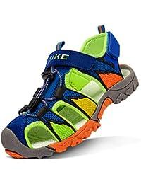 Sandalias para niño Sandalias Deportivas Zapatillas de Trekking y Senderismo Unisex Niños