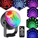 Luces Discoteca Bola Discoteca Inalámbrico Recargable InnooLight 12 Tipos de efectos de...