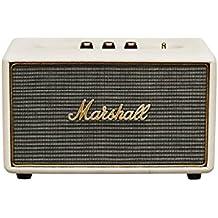 Marshall Acton - Altavoz portátil (Bluetooth v4.0, Bass-reflex, 103 dB, 50-20.000 Hz), color crema