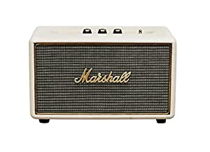 marshall acton speaker diffusore acustico attivo per mp3 smartphone crema elettronica. Black Bedroom Furniture Sets. Home Design Ideas