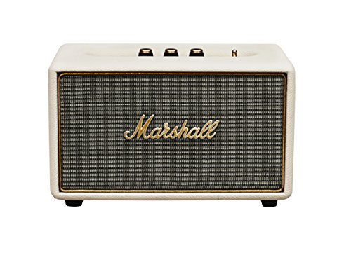 Marshall Acton Bluetooth Lautsprecher (Bluetooth 4.0, 3,5 mm Klinke, 50 Watt) cream