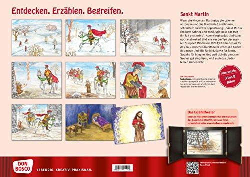 St-Martin-ritt-durch-Schnee-und-Wind-Ein-Spiellied-Bildkarten-fr-unser-Erzhltheater-Entdecken-Erzhlen-Begreifen-Kamishibai-Bildkartenset-Bildkarten-fr-unser-musikalisches-Erzhltheater