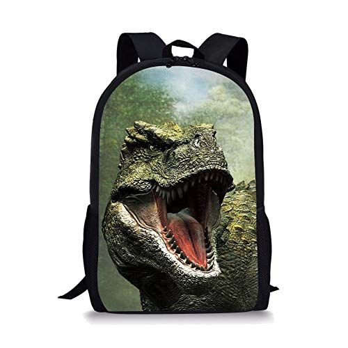 chule Tasche Dinosaurier-nette Kinder Durable Personalisierte Rucksack Bookbags T-REX ()