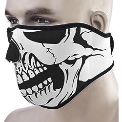 KT suministro calavera completo máscara facial para moto ciclismo bicicleta filtro resistente al viento Deportes Athlectic Biker máscaras, hombre, Style 2