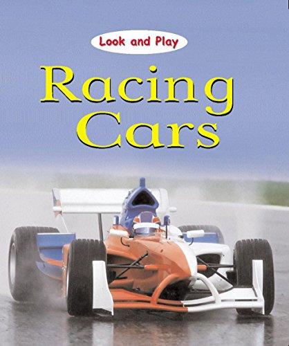 Look and Play: Racing Cars por Jim Pipe