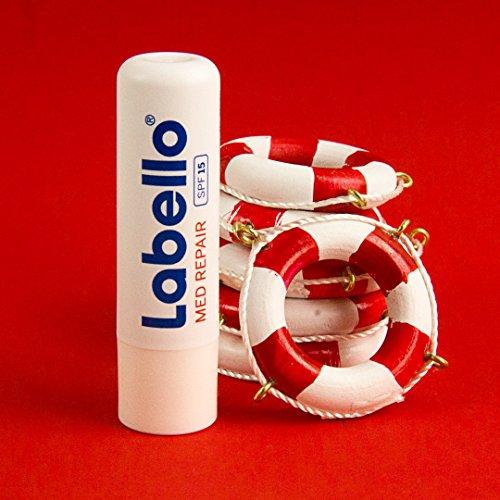 Ansicht vergrößern: Labello Med Repair Lippenpflegestift mit Sonnenschutz - LSF 15 und Vitamin E, 3er Pack (3 x 4,8 g)