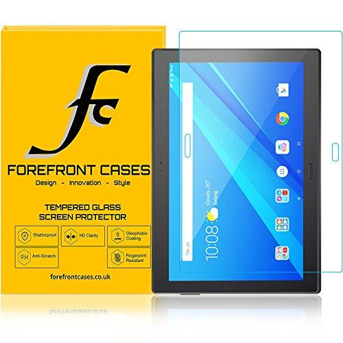 Forefront Cases Lenovo Tab 4 10 Plus/Lenovo Tab4 10 Plus [HD KLARHEIT] Gehärtetes Glas Panzerglas Folie Schutzfolie Screen Protector [Ultra DÜNN nur 0.3mm]