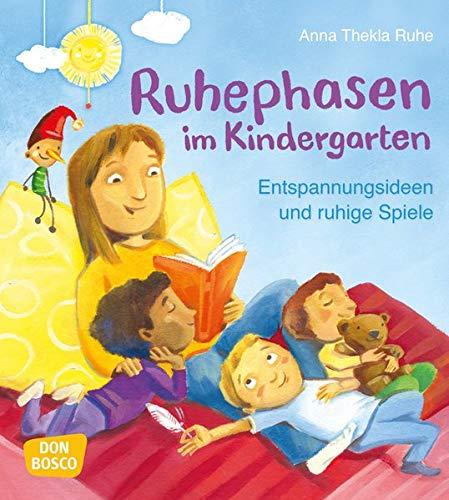 Ruhephasen im Kindergarten: Entspannungsideen und ruhige Spiele