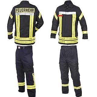 Novotex Feuerwehr Bundhose nach HuPF Teil 2 mit Gürtel Gr. 66