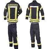 Feuerwehr-Bundhose nach HuPF Teil 2 mit Reflex und Gürtel Gr. 48