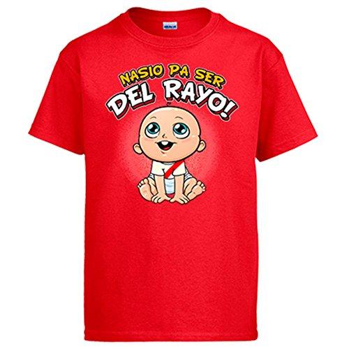 Diver Camisetas Camiseta Nacido ser Rayo Vallecano