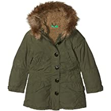 United Colors of Benetton Heavy Jacket, Chaqueta para Niñas