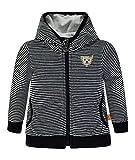 Steiff Collection Jungen Sweatshirt Sweatjacke 1/1 Arm 6832823, Blau (Marine 3032),86