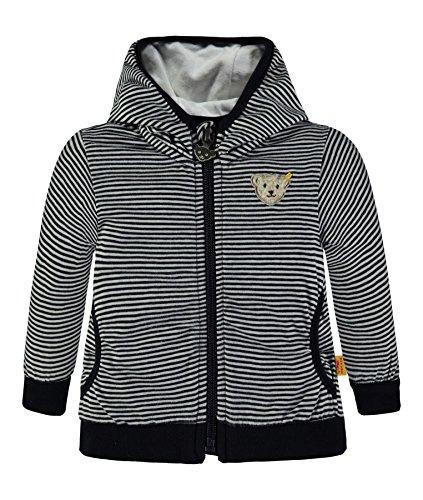 Steiff Collection Jungen Sweatshirt Sweatjacke 1/1 Arm 6832823, Blau (Marine 3032), 62