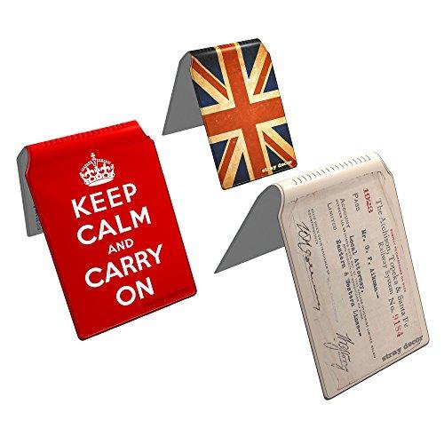Stray Decor (Vintage) 3x Buspass/ Fahrkartenhalter im Brieftaschenformat, IsarCard, fahrCard, RMV Clevercard, Kolibricard oder Karteninhaber auf Reisen Kombi (Seite 2 Id-card-inhaber)