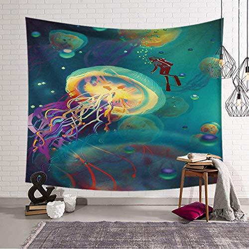 xkjymx Mandala Tapisserie Kompass Stoff Dekor Mandala Decke Stoff Decke Yoga Wandbehang Kunst groß